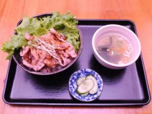 カルビ丼201510