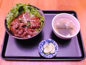 ハラミ丼201510